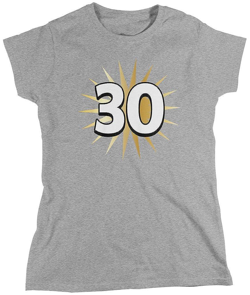 30th cumpleaños, 30 años de edad, cumpleaños camiseta de las ...