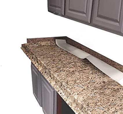 Faux Granite Instantly Update Venecia Gold Granite Counter Top Cover,  36u0026quot; ...