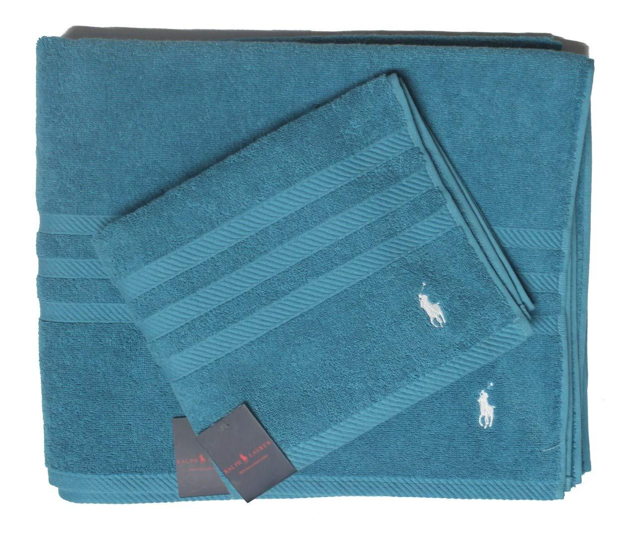 Polo_Ralph Lauren Serviette de Bain Tw86, Turquoise, Taille Unique Ralph Lauren777