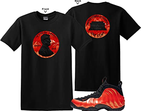 We WIll Fit Penny Shirt to Match The Nike Foamposite ONE Habanero RED  (XLarge) 15a7d20ad