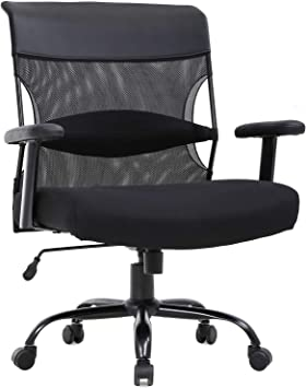 Big And Tall Wide Seat Desk Chair