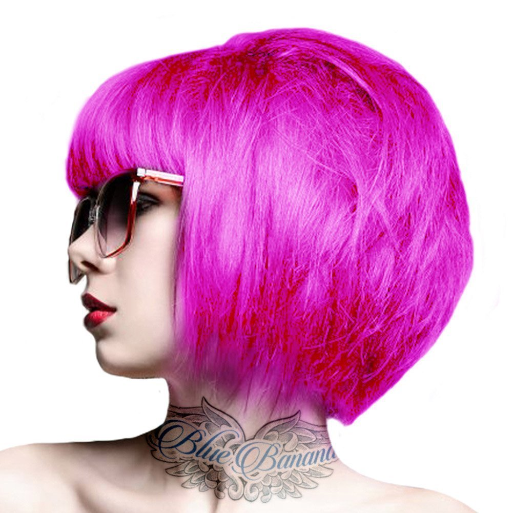 Crazy Color Semi-Permanente Haarfarbe 100ml (Pinkissimo)