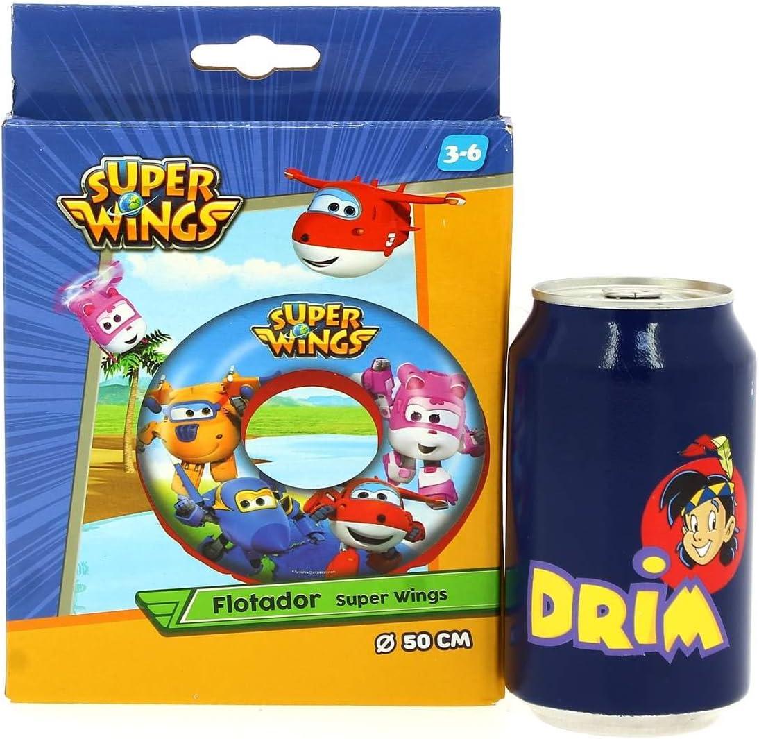 Super wings flotador 50 cm: Amazon.es: Juguetes y juegos