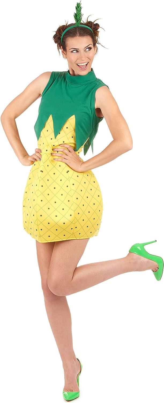 Vegaoo - Disfraz de piña Mujer - Talla única: Amazon.es: Juguetes ...