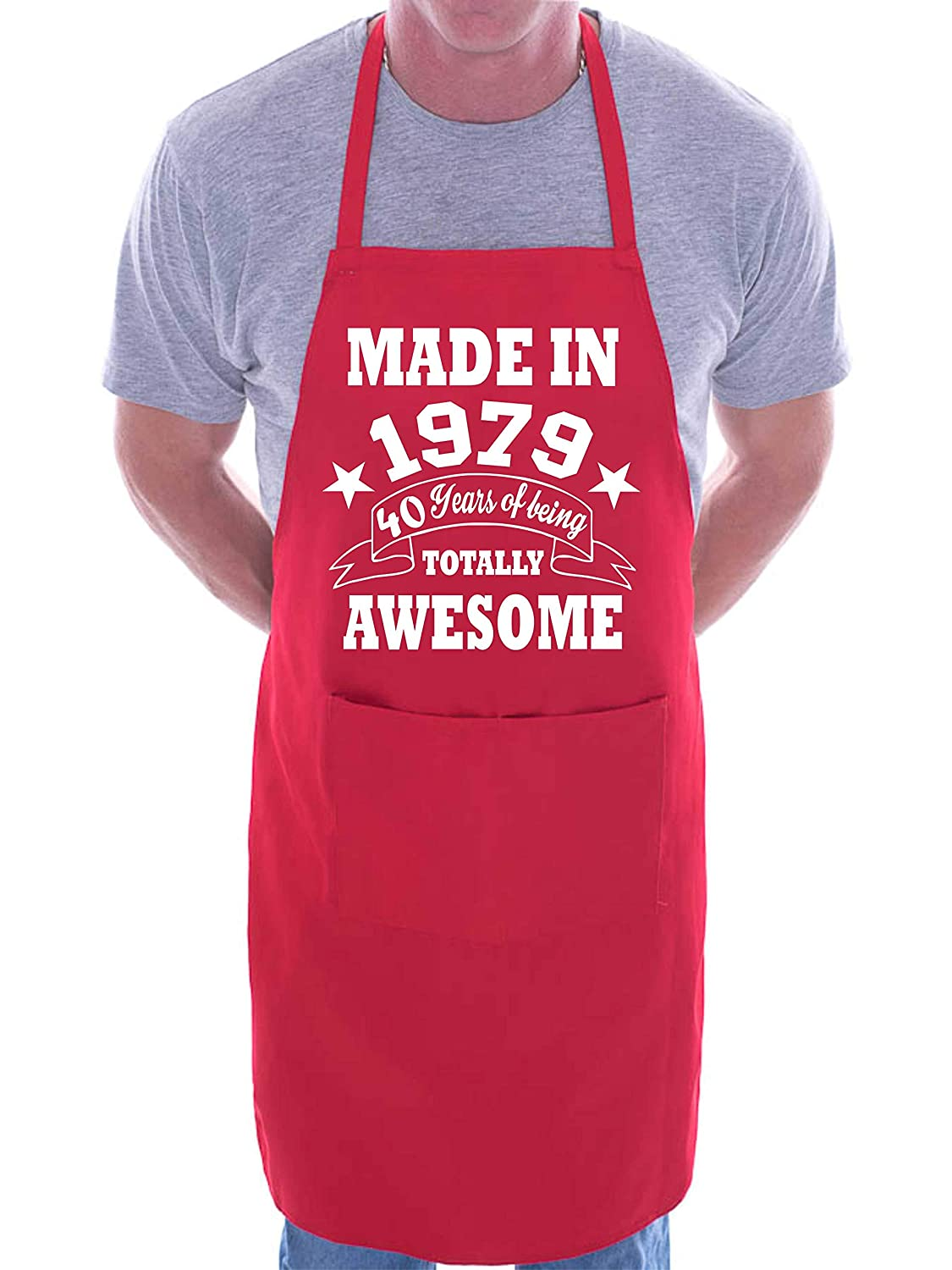 40th Birthday Made In 1979 BBQ Cooking Funny Novelty Apron