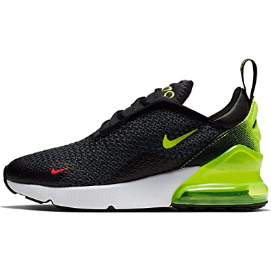 100% high quality super quality new high Nike Air Max 270 RF PS Kids Anthracite/Black/Bright Crimson/Volt AV5142-001