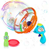 X TOYZ Handheld Bubble Gun Machine - Bubble Shooter Blower Toys with Giant & Small Bubbles for Kids, Party Favors…