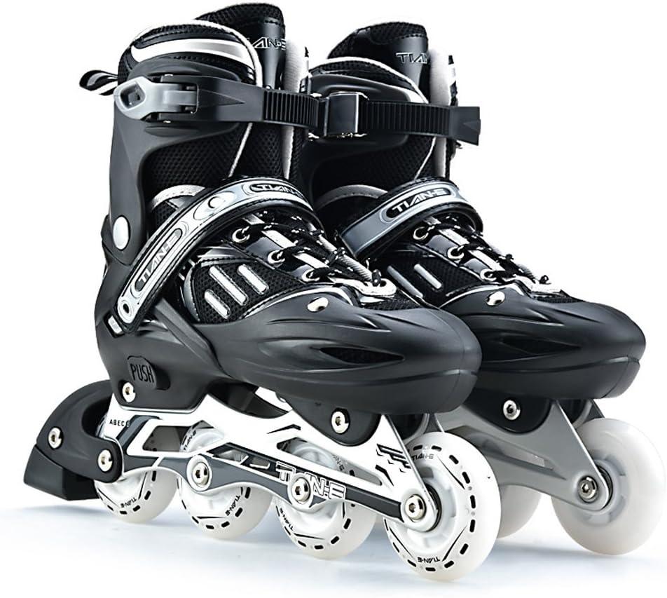 White SM SunniMix Universal Roller Skates Brakes Inline Skates Brakes Block Non-Slip Skating Brake Safety Roller Stopper Kids Inline Skates Accs Black