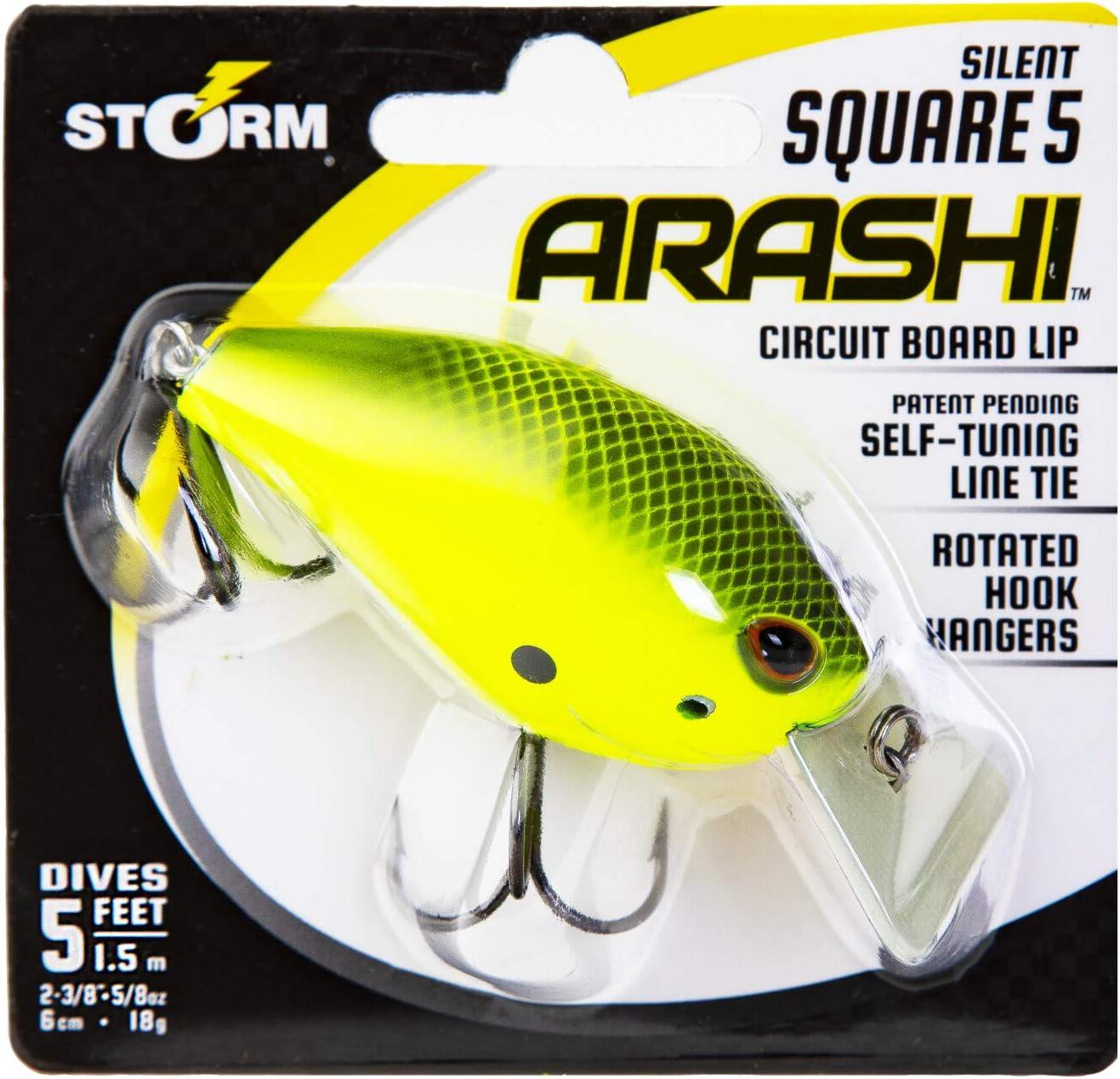 Storm Arashi Silent Square Asqs05 685 Blue Back Herring X3 Baits for sale online