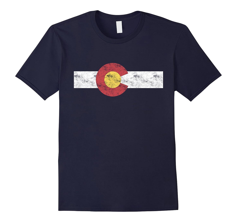 Colorado State Flag T-Shirt Patriotic Colorado Day Gift-FL