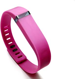 Large PR Replacement Accessory Wristband and Clasp for Fitbit Flex Activity Bracelet - No Tracker Unbranded