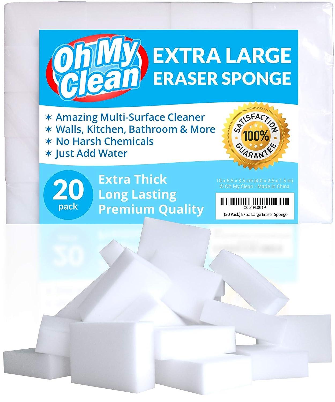 (20 Pack) Extra Large Eraser Sponge