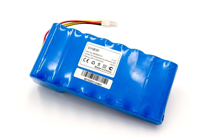 vhbw batería Li-Ion 3000 mAh (18 V) para cortacésped ...