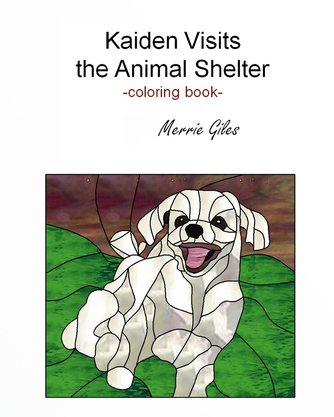 Kappa Animal Shelter Coloring And Activity Books