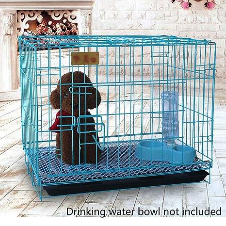 HB PET Mascota Jaula para Perros Bandeja de Metal Plegado de una ...