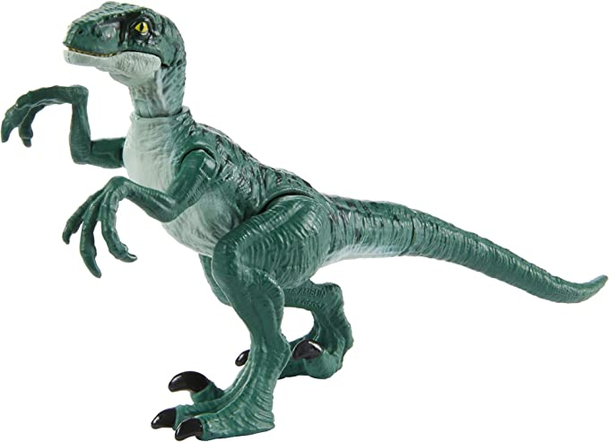 Amazon.com: Jurassic World Camp Cretaceous Isla Nublar Savage Strike Dinosaur Action Figures in Smaller Size with Unique Attack Moves Like Biting, Head Ramming, Wing Flapping, Articulation and More: Toys & Games