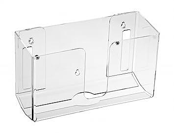 Alpine Industries - Dispensador de toallas de pared (acrílico, 1 o múltiples toallas): Amazon.es: Oficina y papelería