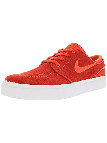 46ea8288c51a Nike Sb Zoom Janoski Max Orange Ankle-High Suede Skateboarding Shoe - 7.5M