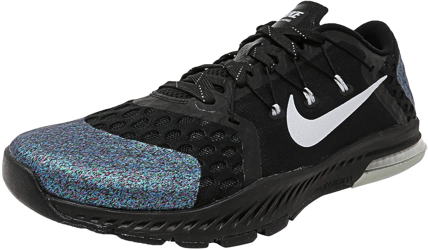 NIKE Air Zoom Train Complete Mens Running Trainers 882119 Sneakers Shoes B073NF63NC 9 D(M) US|Black / Metallic Silver