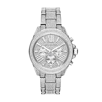 55463434e140 Amazon.com  Michael Kors Women s Wren Silver-Tone Watch MK6317 ...