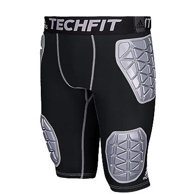 Adidas Techfit Ironskin 5 Mens Padded Football Girdle S Black