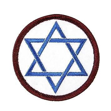 Amazon Star Shield Of David Patch Jewish Faith Symbol Hebrew