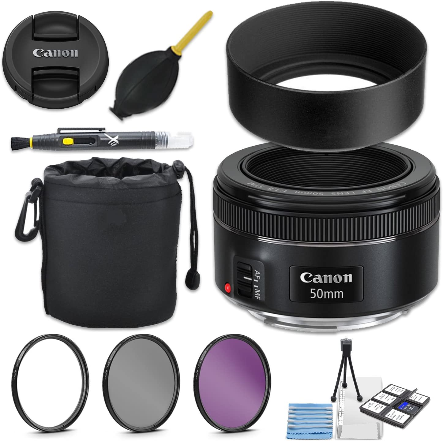 Lens Carrying Pouch Canon 50mm 1.8 II Lens