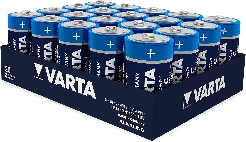 Varta High Energy Alkaline Battery C Baby Pack Of 1 Elektronik