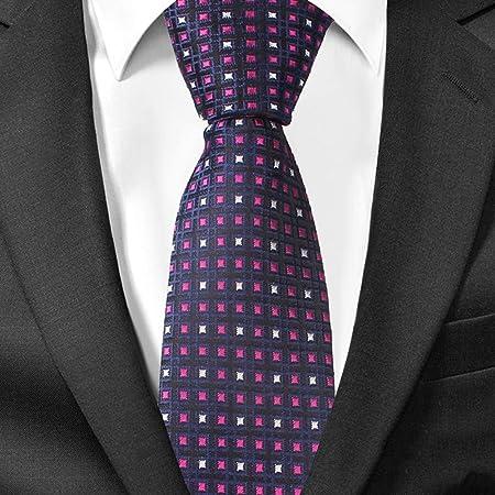 QEHWS Corbata Corbatas para Hombre Trajes A Cuadros Corbata , 6 ...