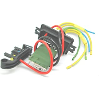 qdi heater blower resistor and wiring harness loom repair kit plug for  renault megane 2