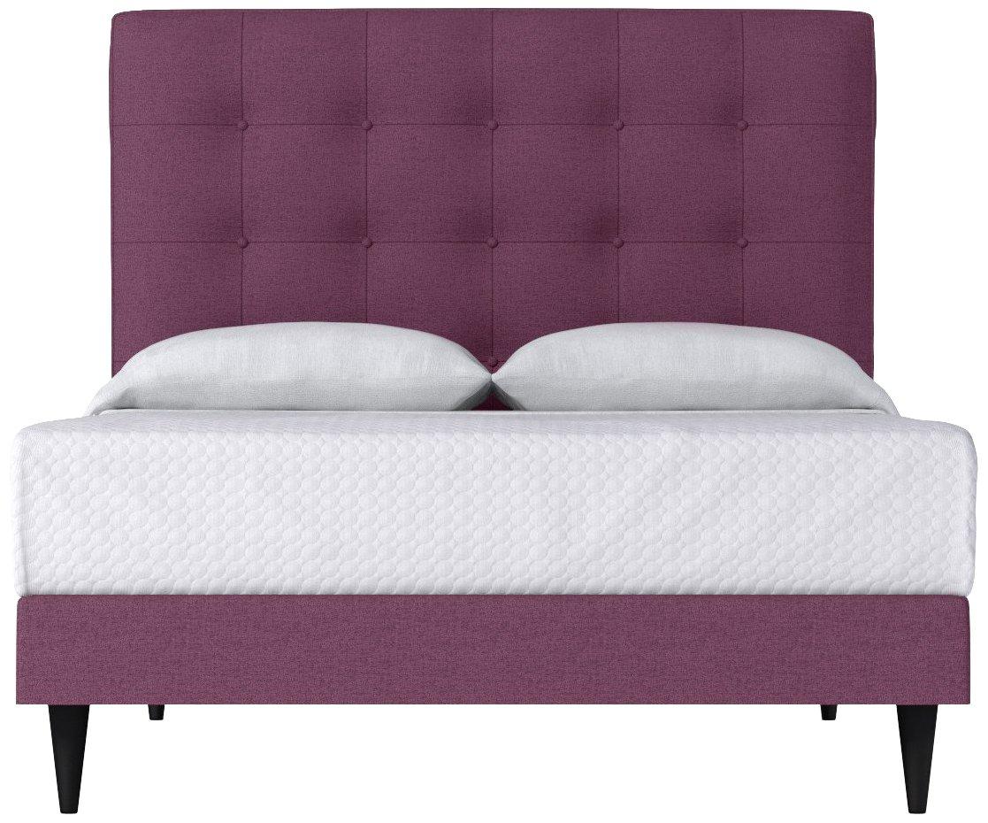 Amazon.com: Palmer Disco tapizado cama de Kyle schuneman ...