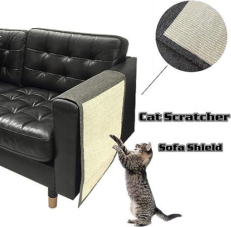 Gatycallaty - Funda para sofá de Gato Antiácaros, para Mascotas, Gatos, Mascotas, Perros, Gatos, Protectores para sofá, Placa de Rasguños: Amazon.es: Hogar