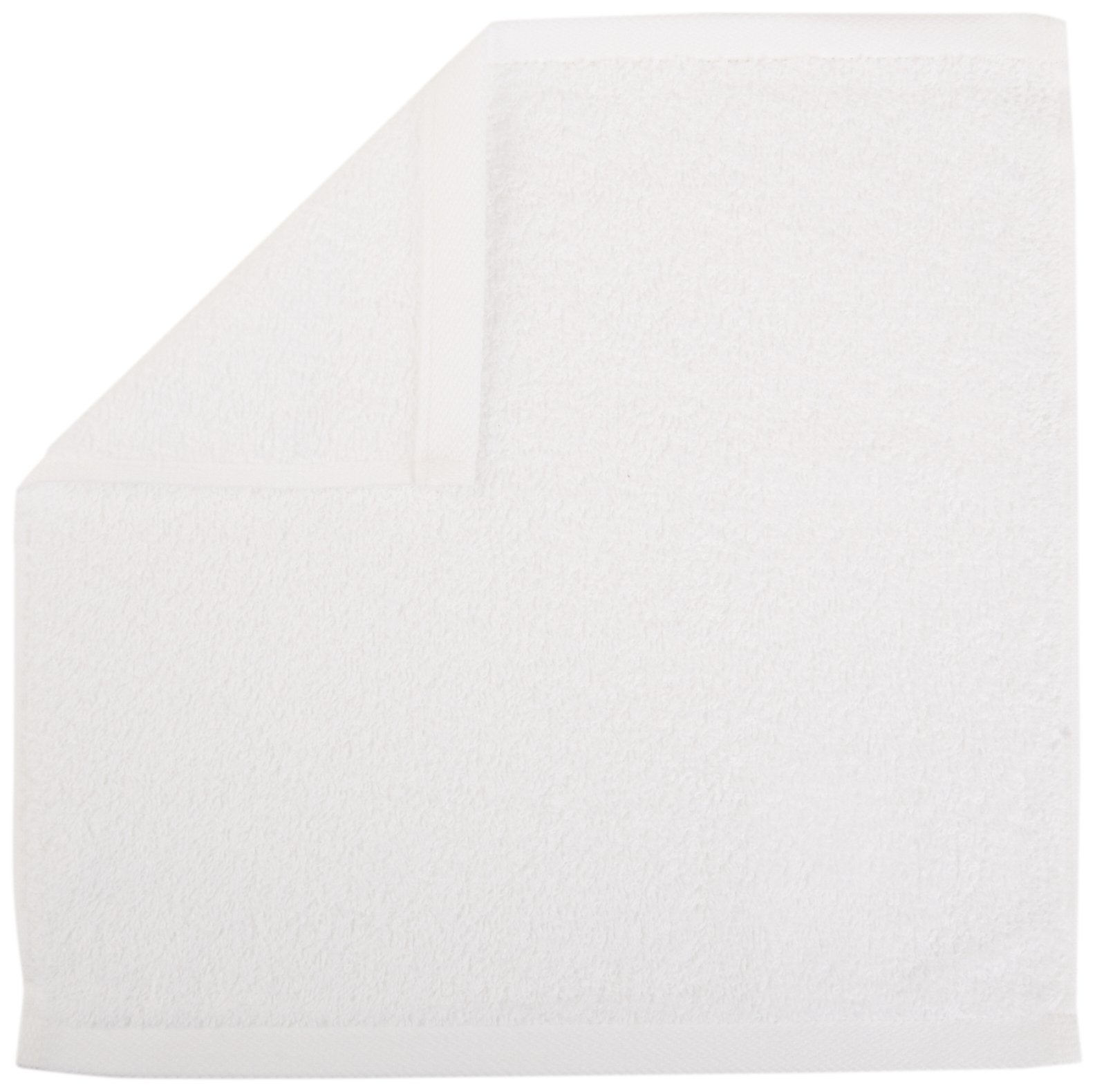 AmazonBasics Cotton Washcloths, 24 - Pack, White by AmazonBasics (Image #2)