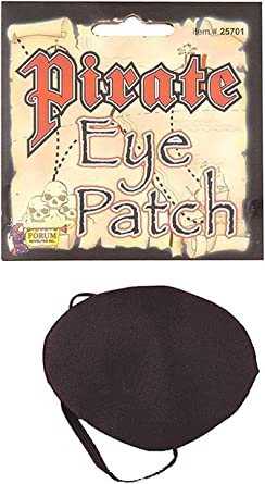 Deluxe Pirate Eyepatch Costume Accesory