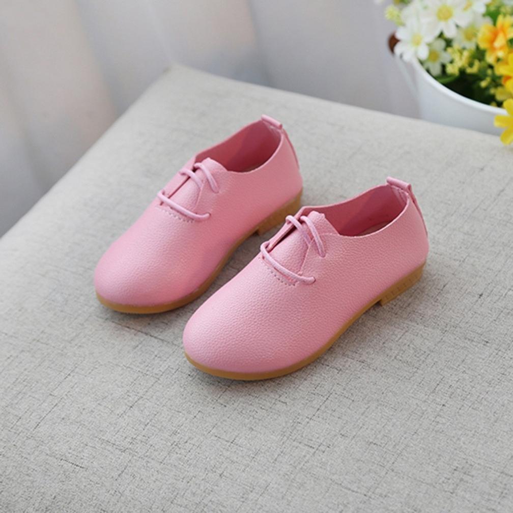 ELECTRI B/éb/é Filles Sneaker Enfants Occasionnels Simples Enfants Princess Chaussures Enfants Fille /Épais et formel f/ête de mariage Petites chaussures de sport