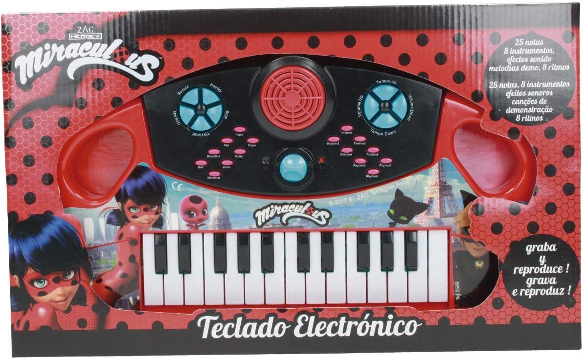Ladybug- Zag Órgano electrónico 25 teclas (Claudio Reig 2683.0) , color/modelo surtido