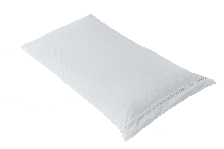 BSensible Tencel Funda de almohada protectora impermeable y transpirable Blanco 150 x 40: Amazon.es: Hogar