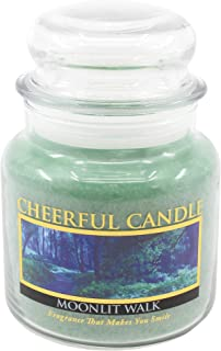 product image for A Cheerful Giver Moonlit Walk 16 oz Jar Candle, Green