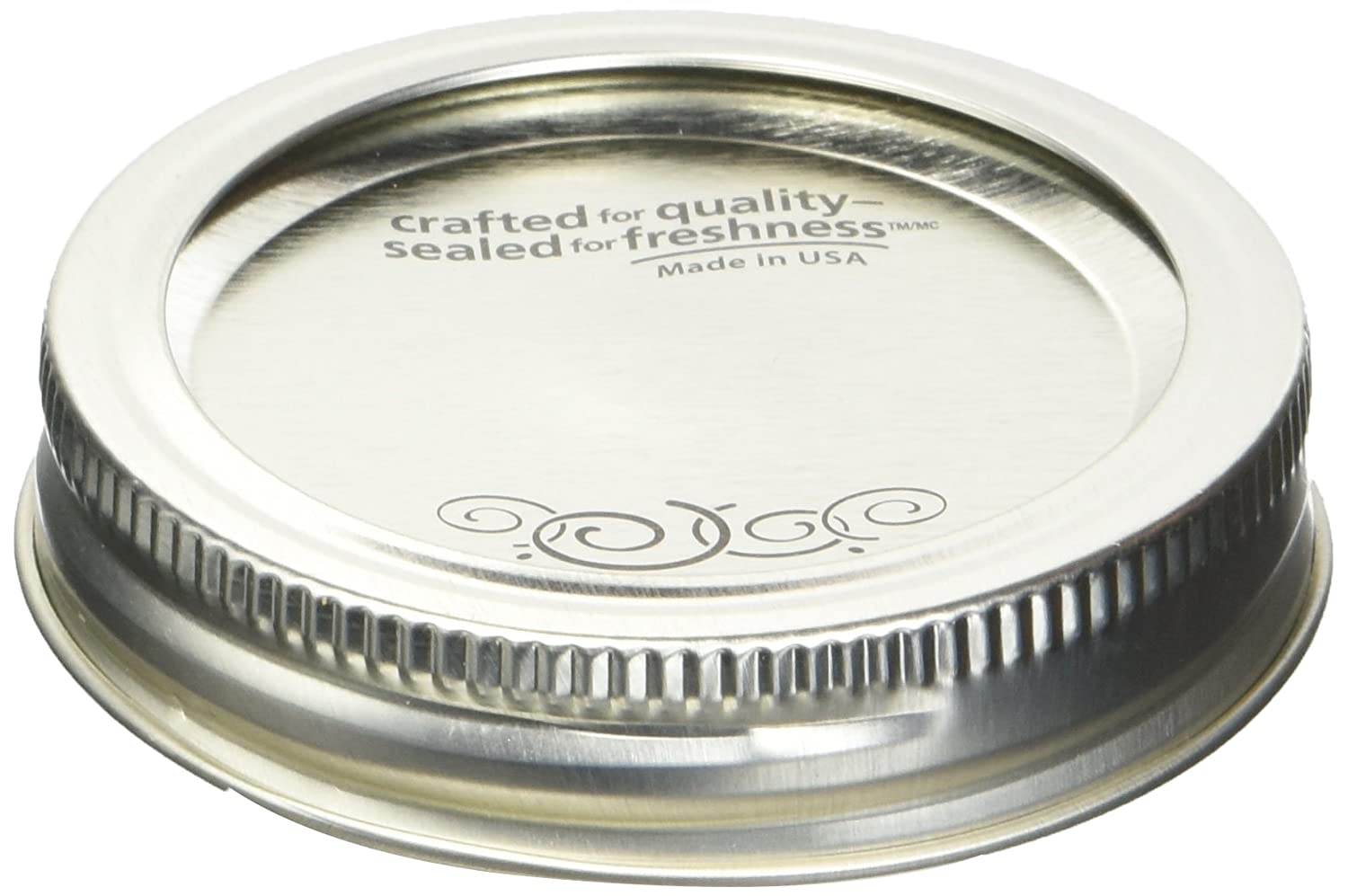 Kerr Regular Mouth Lids with Bands for Preserving, 12-Count