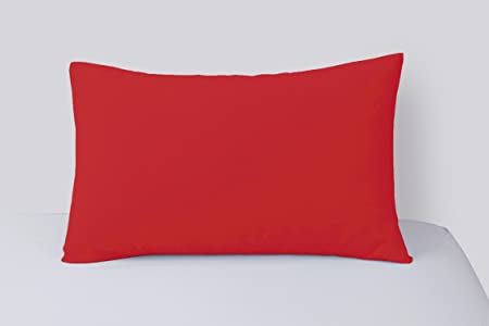 Amazon.co.uk: Pillowcases Red