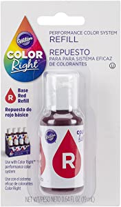 Wilton Right Food Color System Refill, .07 oz, Red #2