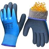 Pro Waterproof Winter Work Gloves Thermal Grip Outdoor Garden Ice Snow Auto Cold Weather Multi-Purpose
