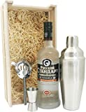 Luxury Gift Set – Beautifully presented Russian Standard Vodka and Cocktail Mixing Set