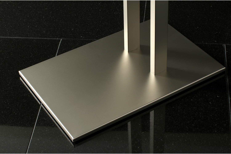 Kingston Brass SCC6030 Edenscape Double L Shape Pedestal Towel Holder Matte Black