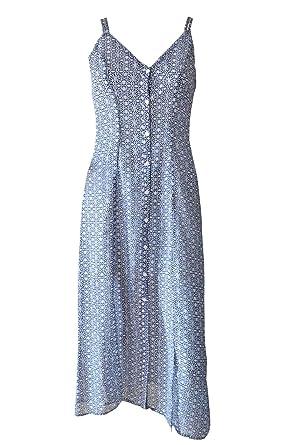 4189f6c9d4cd77 White Label Damen Kleid Blau blau / weiß Gr. 36, blau / weiß: Amazon ...