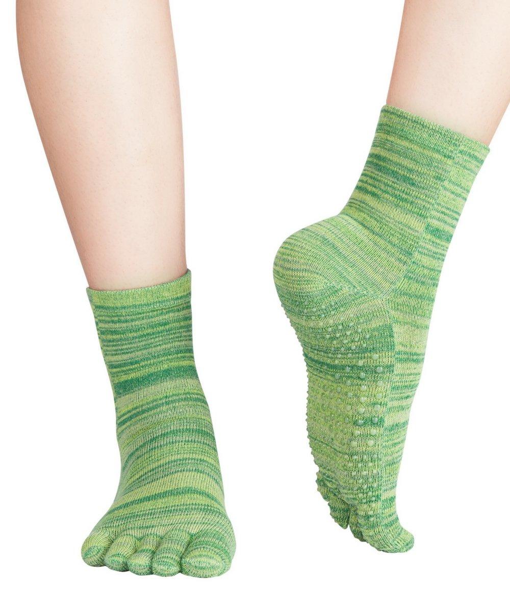 Knitido Wellness Massage - Calcetines de tobillo alto con dedos ...
