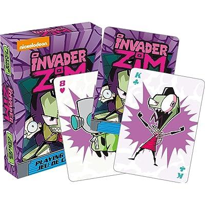 Aquarius Invader Zim Playing Cards Playing Cards: Aquarius: Toys & Games