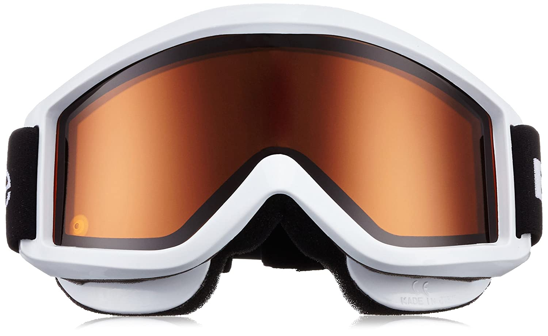 Black Crevice, Maschera da sci con doppia lente, Bianco, Taglia unica:  Amazon.it: Sport e tempo libero