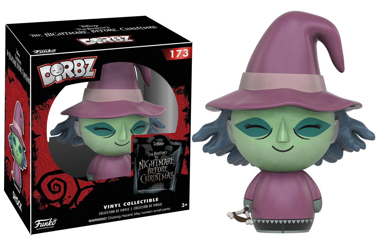 Amazon.com: Funko Dorbz: Nightmare Before Christmas - Shock Action ...