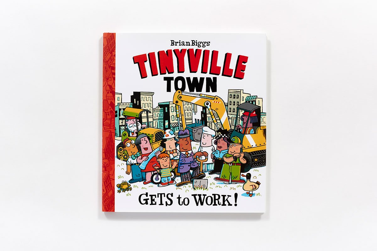 Gets to Work! (A Tinyville Town Book) by Abrams Appleseed (Image #3)